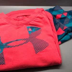 Under Armour toddler girl outfit